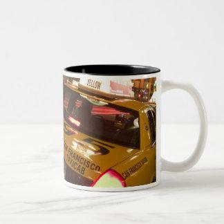 USA, California, San Francisco Union Square Two-Tone Coffee Mug