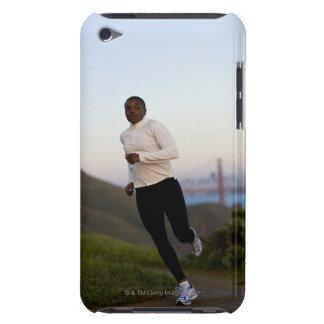 USA, California, San Francisco, Woman jogging, iPod Touch Covers