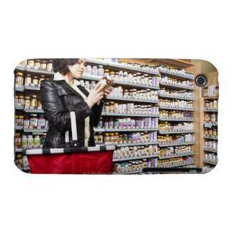 USA, California, San Rafael, Woman shopping in iPhone 3 Case-Mate Cases