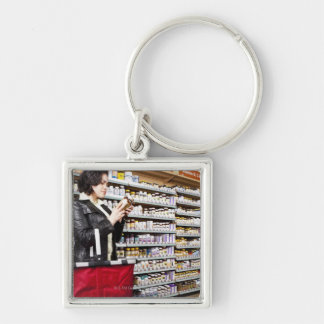 USA, California, San Rafael, Woman shopping in Key Chain
