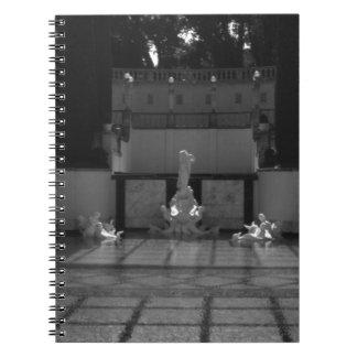 USA California San Simeon Neptune pool 1970 Spiral Notebook