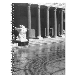 USA California San Simeon Neptune pool 1970 Note Book