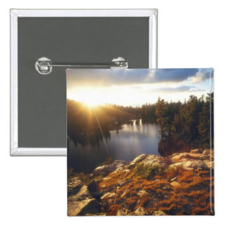 USA, California, Sierra Nevada Mountains. Sunset Button