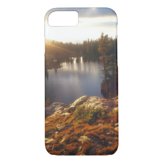 USA, California, Sierra Nevada Mountains. Sunset iPhone 7 Case