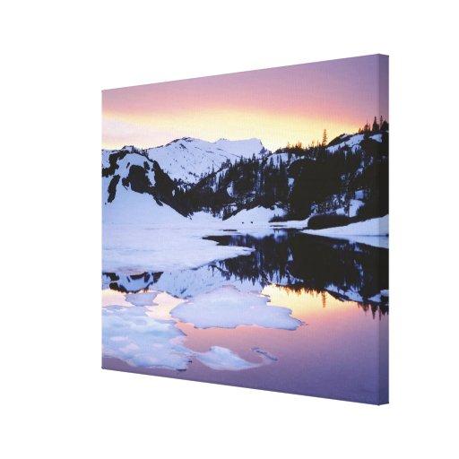 USA, California, Sierra Nevada Mountains. The Canvas Prints
