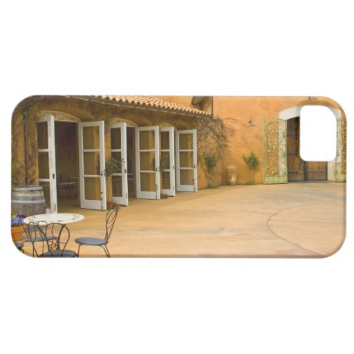 USA, California, Sonoma Valley, Patio at Viansa iPhone 5 Cases