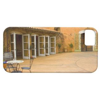 USA, California, Sonoma Valley, Patio at Viansa iPhone SE/5/5s Case