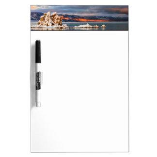 USA, California, Sunrise at Mono Lake Dry Erase Whiteboards