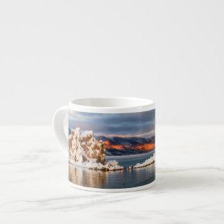 USA, California, Sunrise at Mono Lake Espresso Cup