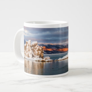USA, California, Sunrise at Mono Lake Large Coffee Mug