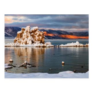USA, California, Sunrise at Mono Lake Postcard