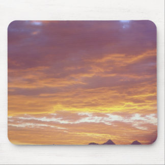 USA, California, Sunset over the Sierra Nevada Mouse Pad