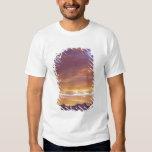 USA, California, Sunset over the Sierra Nevada T-shirts