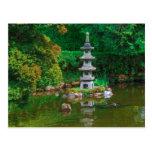 USA, California. View Of A Pond Postcard