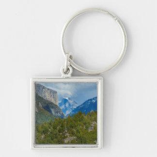 USA, California. View Of Half Dome In Yosemite Keychain