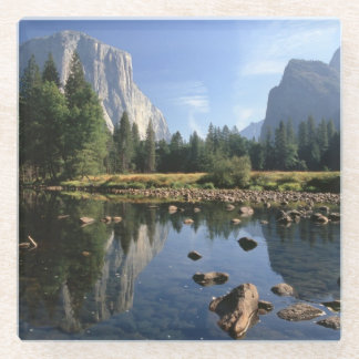 USA, California, Yosemite National Park 3 Glass Coaster