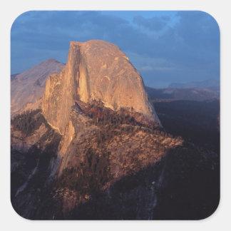 USA, California, Yosemite National Park, 3 Square Stickers