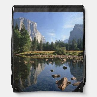 USA, California, Yosemite National Park, 5 Drawstring Backpack