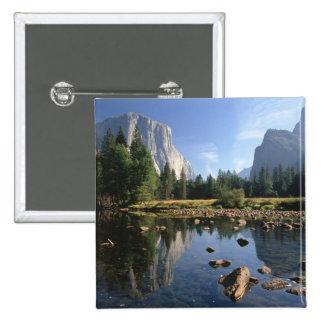 USA, California, Yosemite National Park, 5 Pinback Button