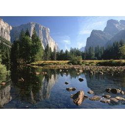USA, California, Yosemite National Park, 5 Post Cards
