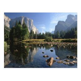 USA, California, Yosemite National Park, 5 Postcard