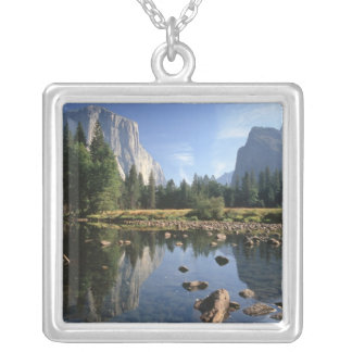 USA, California, Yosemite National Park, 5 Silver Plated Necklace