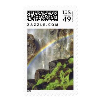 USA, California, Yosemite National Park. A Postage