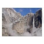USA, California, Yosemite National Park. Card