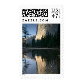 USA, California, Yosemite National Park: El Postage