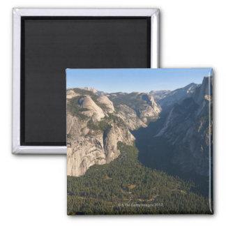 USA, California, Yosemite National Park, Half 2 Inch Square Magnet