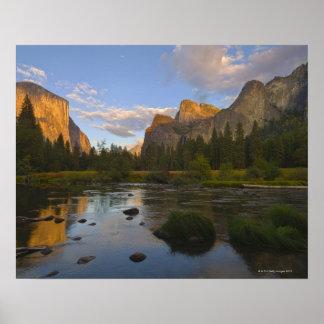 USA, California, Yosemite National Park, Merced Print