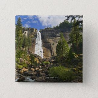 USA, California, Yosemite National Park, Nevada Pinback Button