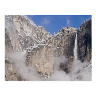 USA, California, Yosemite National Park. Postcard