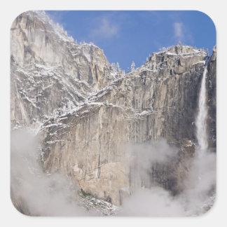 USA, California, Yosemite National Park. Square Sticker