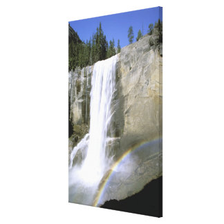 USA, California, Yosemite National Park. Vernal Gallery Wrapped Canvas