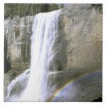 USA, California, Yosemite National Park. Vernal Large Square Tile
