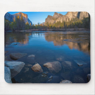 USA, California. Yosemite Valley View 2 Mouse Pad
