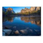 USA, California. Yosemite Valley View 2 Postcard