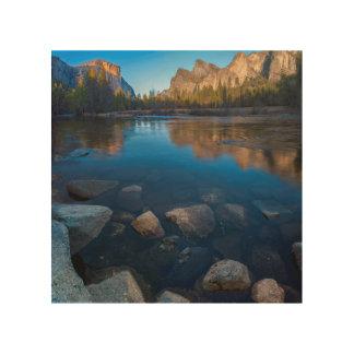USA, California. Yosemite Valley View 2 Wood Print