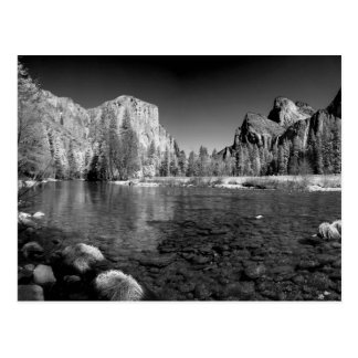 USA, California. Yosemite Valley View Postcard