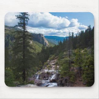 USA, California. Yosemite Valley Vista Mouse Pad