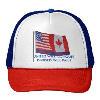 USA + CANADA HAT