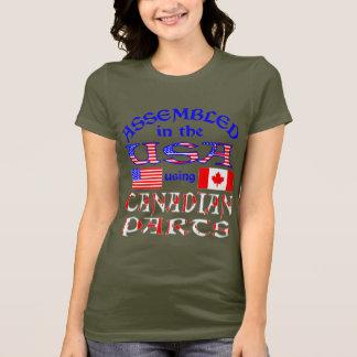 USA Canadian Parts 2 T-Shirt