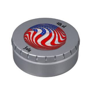 USA CANDY TINS
