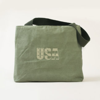 USA Canvas Utility Tote