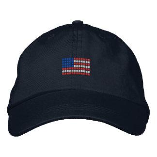 USA Cap - American Flag Hat Embroidered Baseball Cap