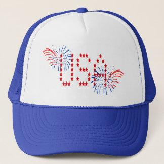 USA CAP by SHARON SHARPE