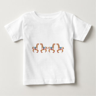 USA Carousel Horses Baby T-Shirt