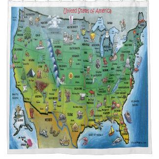 Shower curtain usa map curtain menzilperde net - Old world map shower curtain ...