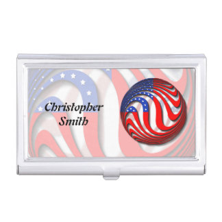 USA CASE FOR BUSINESS CARDS